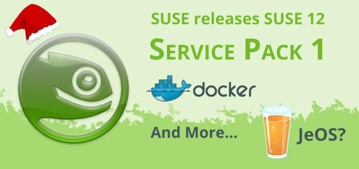 SLES OS features: Docker & JeOS