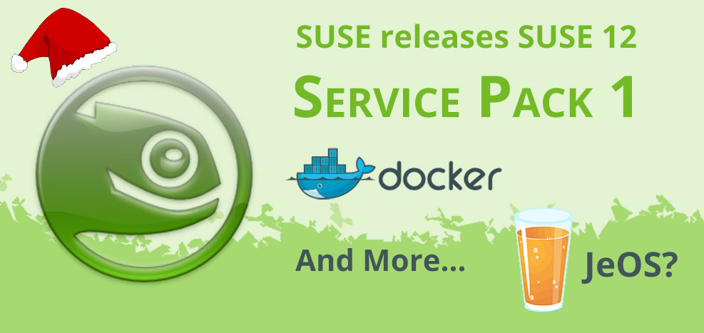 SLES OS features: Docker & JeOS